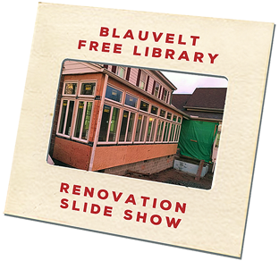 Blauvelt Free Library Renovation Slide Show